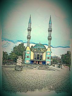 Mevlana mosque Rotterdam Netherlands
