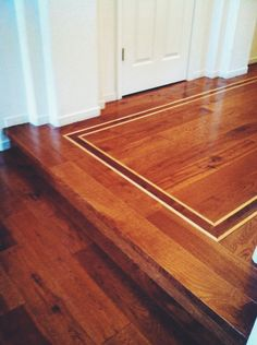 Hickory, Walnut & Maple. Done by Todd's Hardwood Flooring.