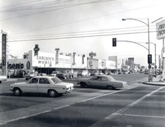 Bellflower Blvd and Artesia, 1960