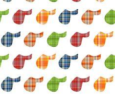 Plaid Saddles custom fabric by ragan for sale on Spoonflower Horse Quilt, Horse Fabric, Fabric Art, Horse Wallpaper, Conversational Prints, Equestrian Decor, Pretty Patterns, Saddles, Fleece Fabric