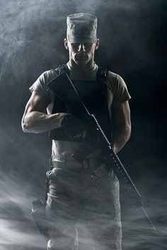 Army Ranger, Its not the toys and whistles that make this man dangerous