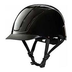 Spirit 2017 Traditional AP Horse Riding Helmet - Solids Black - Item # 43656