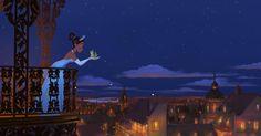 TIANA et son PRINCE NAVEEN (La Princesse et la Grenouille) - Disponible en Blu-ray et DVD - © Disney  #Tiana