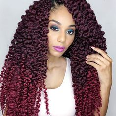 Crochet Hair Miami : (unraveled) 7 packs @isis_hair_inc Hair Stylist: @parispaige300 Hair ...