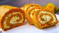 Морковный Рулет с Сырной Начинкой Queso, Sushi, Muffin, Rolls, Food And Drink, Appetizers, Snacks, Make It Yourself, Party