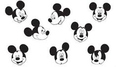 Image result for easy drawings of disney mickey mouse