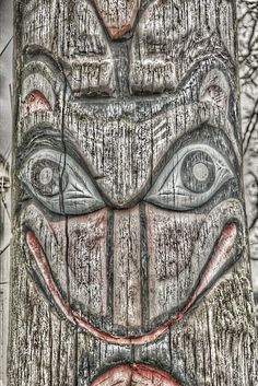 First Nation Peoples Totem by SmilingMonk, via Flickr