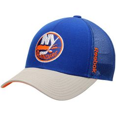 858665f8134 New York Islanders Reebok Center Ice Travel   Training Adjustable Hat -  Royal