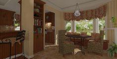 3D Renderings ~ breakfast room rendering