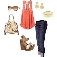 summer fun, created by sarahmmm by denise.su