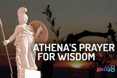 Athena's Devotional Prayer for Wisdom Prayer For Wisdom, Easy Love Spells, Yellow Candles, Greek Gods And Goddesses, Candle Spells, Deities, Spelling, Prayers, Wicca