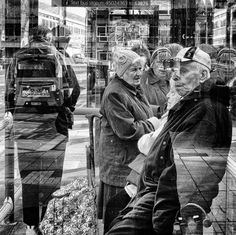 Bob Hamilton's photography will be on show in the Open Houses at Saltaire Arts Trail.  Candid, opportunistic photographs.