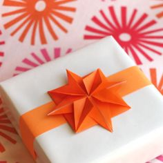 Make origami stars to use for garlands or gift toppers.