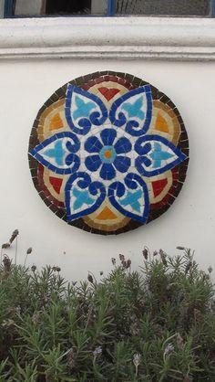 Mandala Venecitas para jardin o deco interior, $750 en https://ofeliafeliz.com.ar