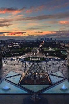 Paris, Louvre, Jardin des Tuileries