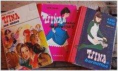 Lapsuuden kirjat Tiina kirjasarja Good Old Times, Old Books, Of My Life, Growing Up, Retro Vintage, Nostalgia, Memories, Thoughts, Reading