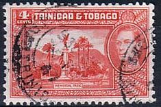 Trinidad and Tobago 1938 SG 249a Memorial Park Fine Used SG 249a Scott 53A Other West Indies Stamps here