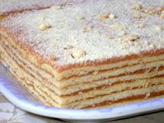 Hungarian Desserts, Hungarian Recipes, Walnut Torte Recipe, Non Plus Ultra, Salty Snacks, Vanilla Cake, Oreo, Food And Drink, Cooking Recipes