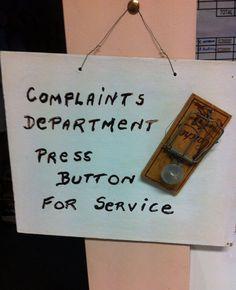 Please File Your Complaint