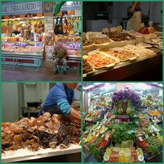 New Year's Eve in Spain. One of the most important celebrations of the year. Markets are buzzing with eager shoppers, long queues at each stall. Fish and seafood are firm favourites for tonight's dinner, king prawns, crayfish, lobster, mussels and all kinds of fish from salmon to Mediterranean specialities like mero (grouper), lubina (sea bass) swordfish etc. For meat eaters, suckling pig and lamb, chicken, pheasant and steaks. Iberian ham and sausges, foie gras, patés and ...