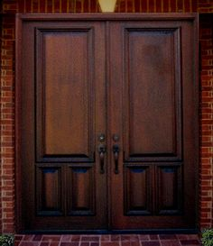 1000 images about front doors on pinterest solid wood High end front doors