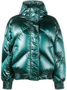 Купить Ienki Ienki дутая куртка 'Dunlope' с капюшоном