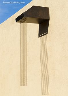 KASONGROUP - SCULPTURE, ARCHITECTURE, METAL - Canale rain chains, available through this New Mexico company