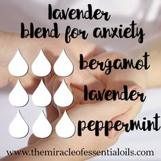 5 Lavender Essential Oil Diffuser Blends You Need In Your Life - The Miracle of Essential Oils Essential Oil Diffuser Blends, Essential Oil Uses, Essential Oils For Anxiety, Doterra Diffuser, Helichrysum Essential Oil, Healing Oils, Natural Healing, Diffuser Recipes, Perfume