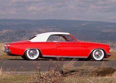 1953 Studebaker Commander convertible