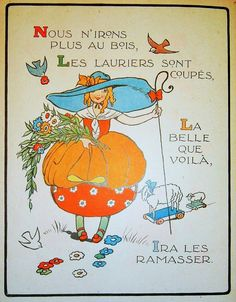 Une Poule sur un mur. Dessins de Félix Lorioux.P., Hachette, s.d.