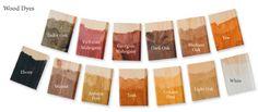 liberon wood dye colour chart