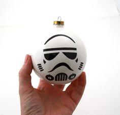 Storm Trooper Christmas Ornament -  via Etsy