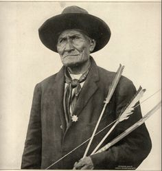 """Geronimo b. 1829 ... look closely - see his face book?  I guarantee that look comes as the result of another 'Federal Control the People Program' that was once believed to be """"right"""" just because it was the law of the land.  Is there a pattern here?  BTW - has anyone out there (besides me) ever interviewed a Native American as to how they feel about being put on a Federal Health Care Program?  They have over 150 Years of experience with the Feds Health Care System (IHS)."""