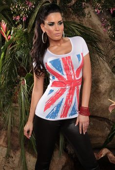 Cool T-Shirt with British Print Sexy Outfits, Cool T Shirts, Sexy Lingerie, Tie Dye, British, Costumes, Cool Stuff, Swimwear, Shopping