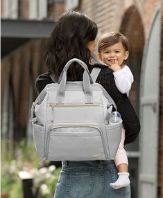 Skip Hop Mainframe Wide Open Diaper Backpack & Reviews - All Kids' Accessories - Kids - Macy's Diaper Bag Backpack, Backpack Straps, Chic Diaper Bag, Diaper Bags, Backpack Reviews, Backpack Online, Kids Backpacks, Fashion Backpack, Cement