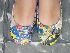Batman customized shoes $40