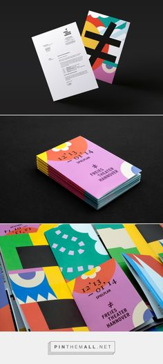 New Brand Identity for Freies Theater Hannover - BP&O - created via http://pinthemall.net