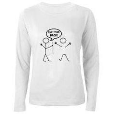 I got your back 1 Long Sleeve T-Shirt> I Got Your back > Popular Culture and Retro Designs