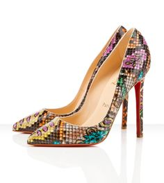 I am so ridiculously over Christian Louboutins, but these are ...