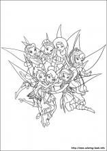 Secret Of The Wings Coloring Pages On Book