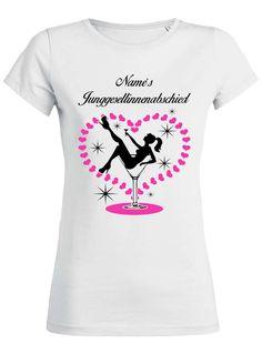 Braut badet im Glas JGA T-Shirt für den Junggesellinnenabschied