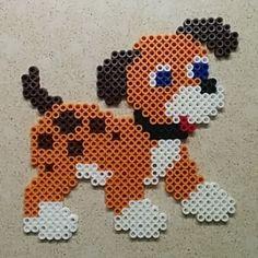 Dog perler beads by ofiroz