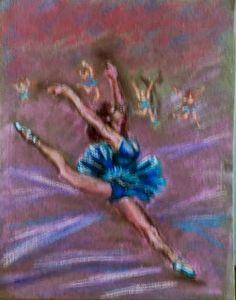 Art by Maria Luisa Ibanez, a Spanish artist. Spain art. #MariaLuisaIbanezArt #Art #Painting #Spain #Arte #Espana #Cuadros #Degas #Inspiration