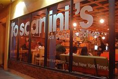 Ice Cream? Yes, please. Toscanini's is a great ice cream hang out with wonderful experimental flavors.