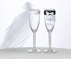 Whether the bride and groom have elegant, simple, or contemporary tastes, WeddingCollectibles has the perfect Wedding Toasting Glasses and Goblets to toast their wedded bliss in style. From the Hot Pink / Orange Toasting Flutes to the Las Vegas Wedding To Wedding Toasting Glasses, Toasting Flutes, Champagne Glasses, Wedding Groom, Bride Groom, Diy Wedding, Wedding Ideas, Wedding Stuff, Rose Wedding