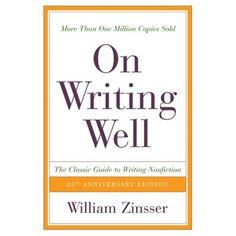 William Zinsser - the master