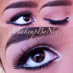 @makeupbynee used our 120 Color 1st and 2nd Edition Palettes to create this look.