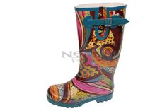 Nomad Footwear Puddles Rain Boot - Turquoise Monet