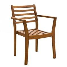 COPENHAGEN Stacking Armchair Outdoor Chairs, Outdoor Furniture, Outdoor Decor, Backyard, Patio, House Front, Copenhagen, Outdoor Living, Armchair