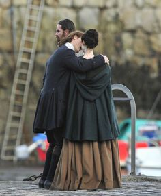 Jamie, Claire and Murtagh. I think Sam and Cait dated for a year or more but it didn't work out. Now Jamie has a girlfriend and Cait is engaged. Bummer! Loved them as a couple.